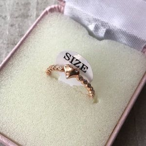 Other - Sterling Silver Pink Ring